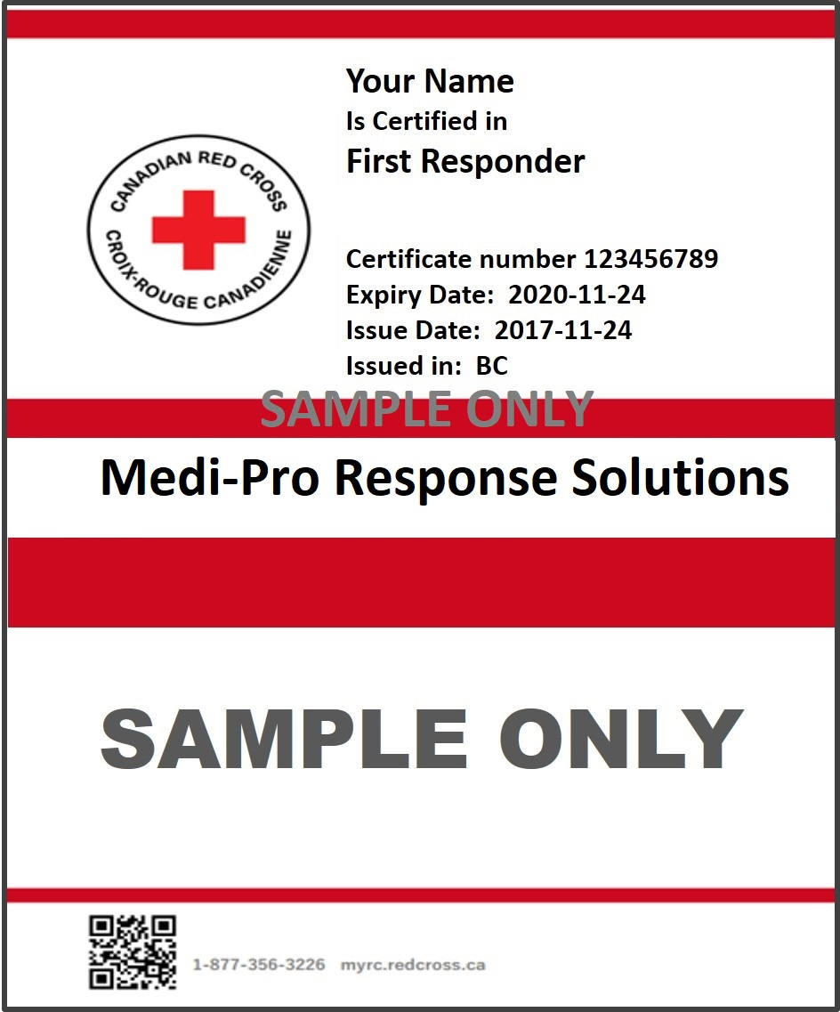 photograph about Printable Pocket First Aid Guide identified as Kelowna Very first Responder Program Registration - KELOWNA Very first