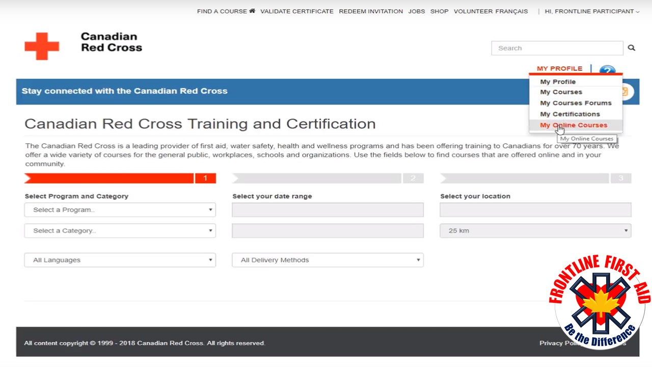 How To Access Your Online Course Kelowna First Aid Cpr Courses