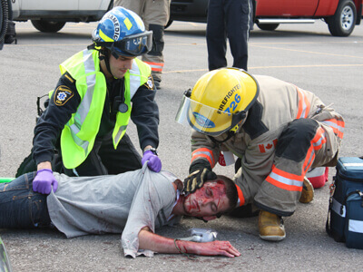 Kelowna Emergency Medical Responder Course Layout and Content