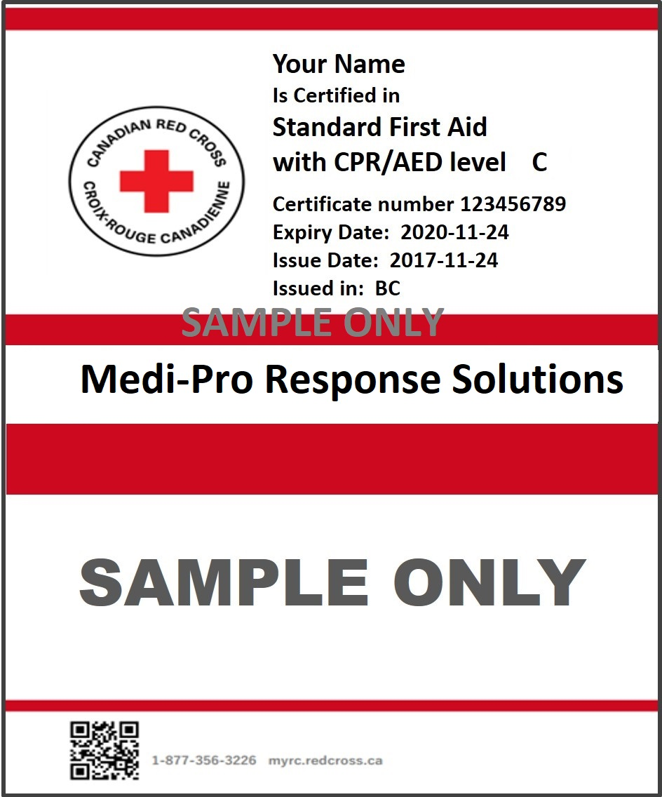 How to get a copy of your certificate kelowna first aid cpr sample certificate 1betcityfo Gallery